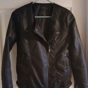 Jackets & Blazers - NWT Vegan Leather Moto Jacket